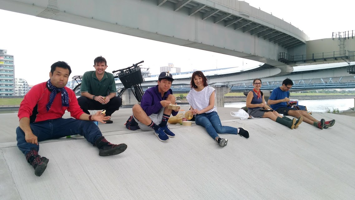 Arakawa River Clean Up – Nishi Kasai – 86 bags