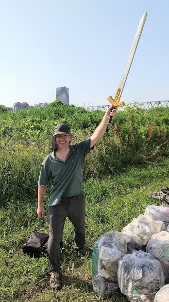 Arakawa River Clean Up (Funabori) June 7, 2020