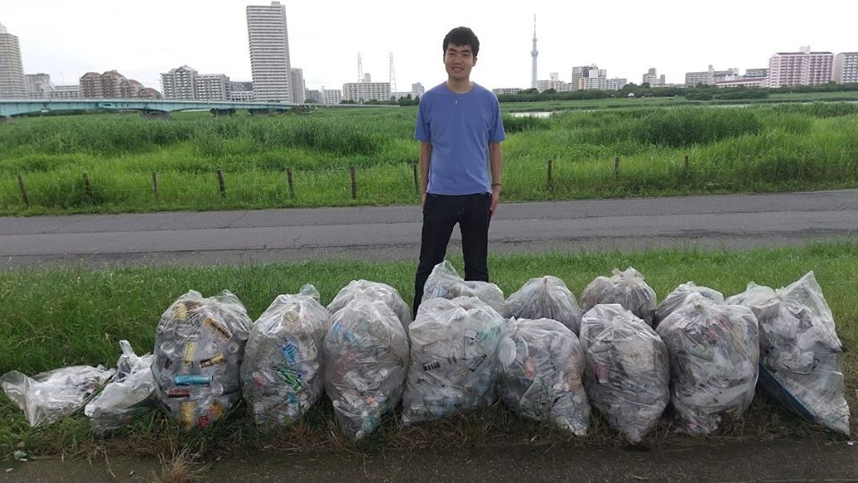 Arakawa River Clean Up  (Funabori) June 28, 2020