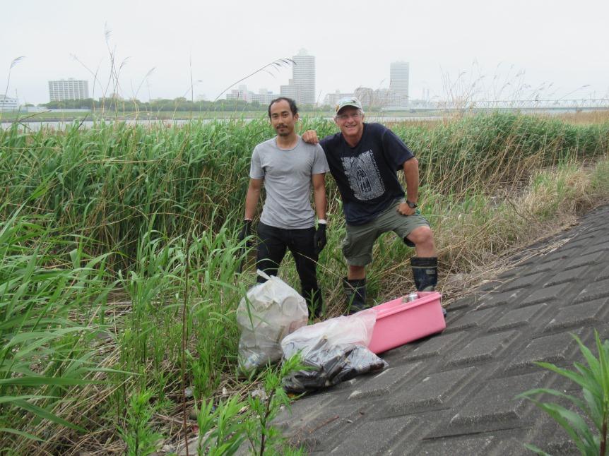 Arakawa River Clean Up (Funabori) May 10, 2020
