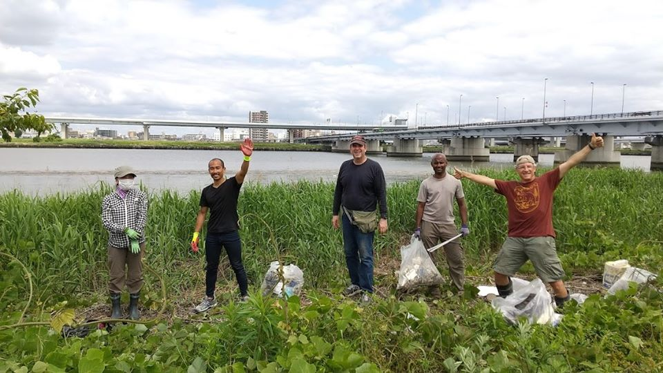 Arakawa River Clean Up (Hirai Station) May 24, 2020