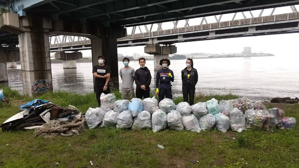 EdogaawaRiver Clean Up  (Myoden) July 18, 2020