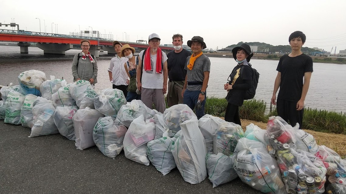 Edogawa River Clean Up (Barakinakayama) August 22, 2020