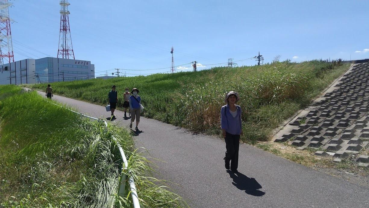Arakawa River Clean Up (Minami-Sunamachi), August 30, 2020