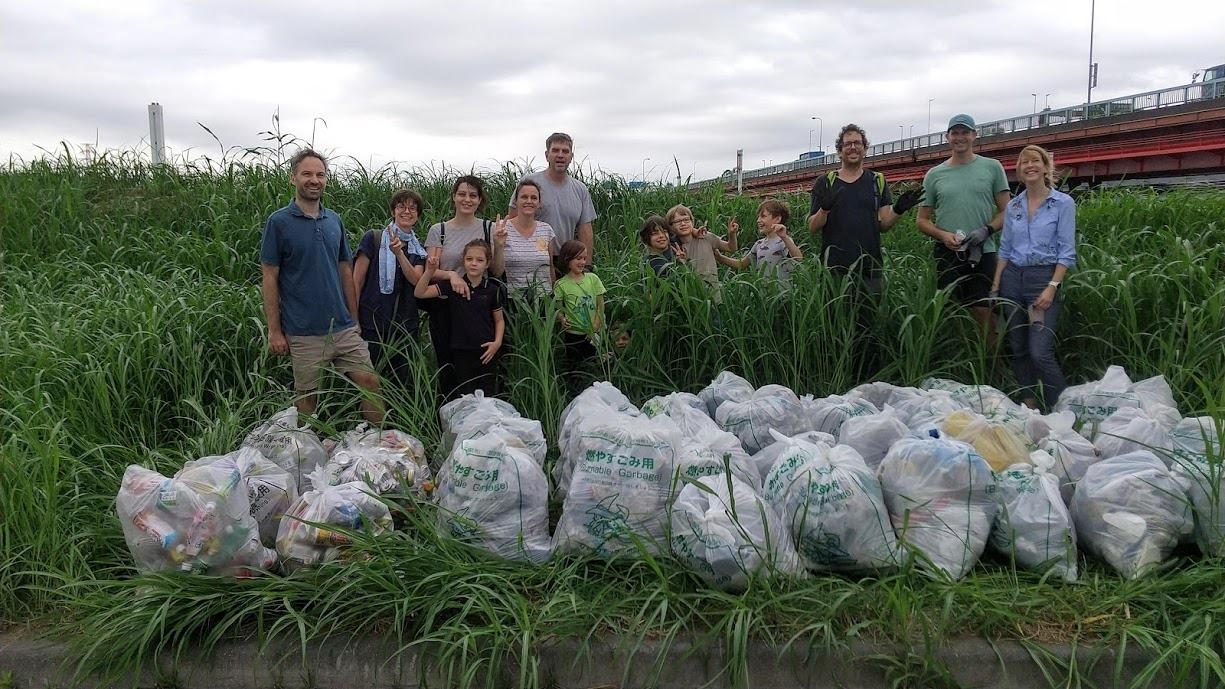 Edogawa River Clean Up Sept 19, 2020