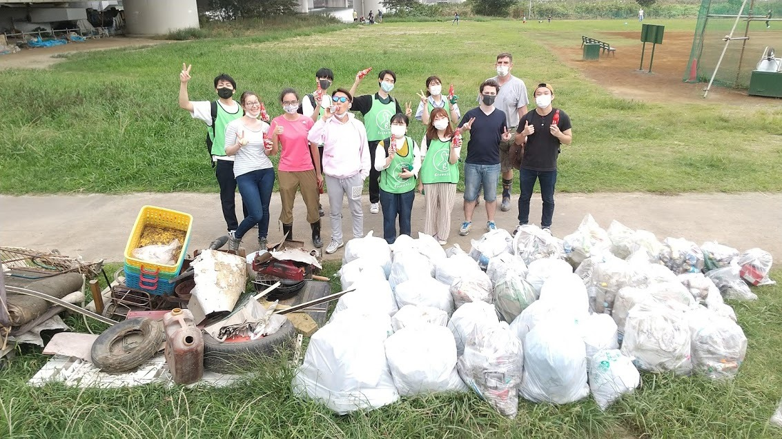 Tamagawa Clean Up (Daishibashi) Oct 4, 2020