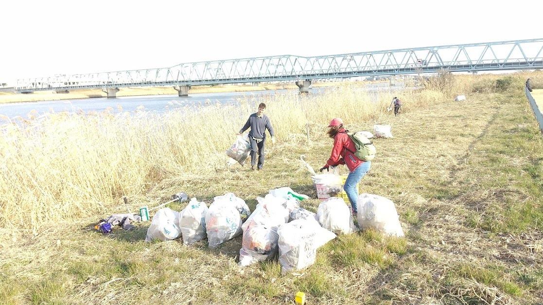 Arakawa River Clean Up Feb 13, 2021
