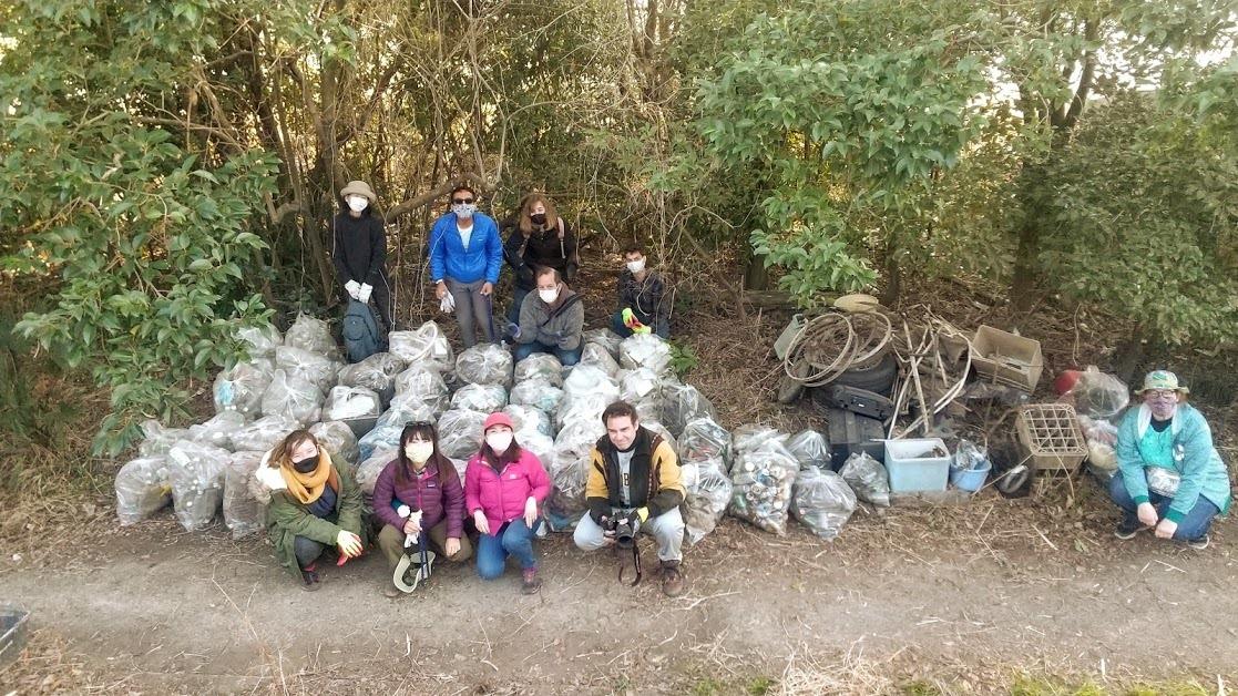 Tamagawa River Clean Up Feb 28, 2021