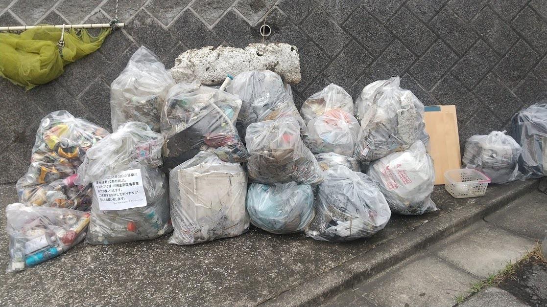 Tamagawa River Clean Up Mar 28, 2021