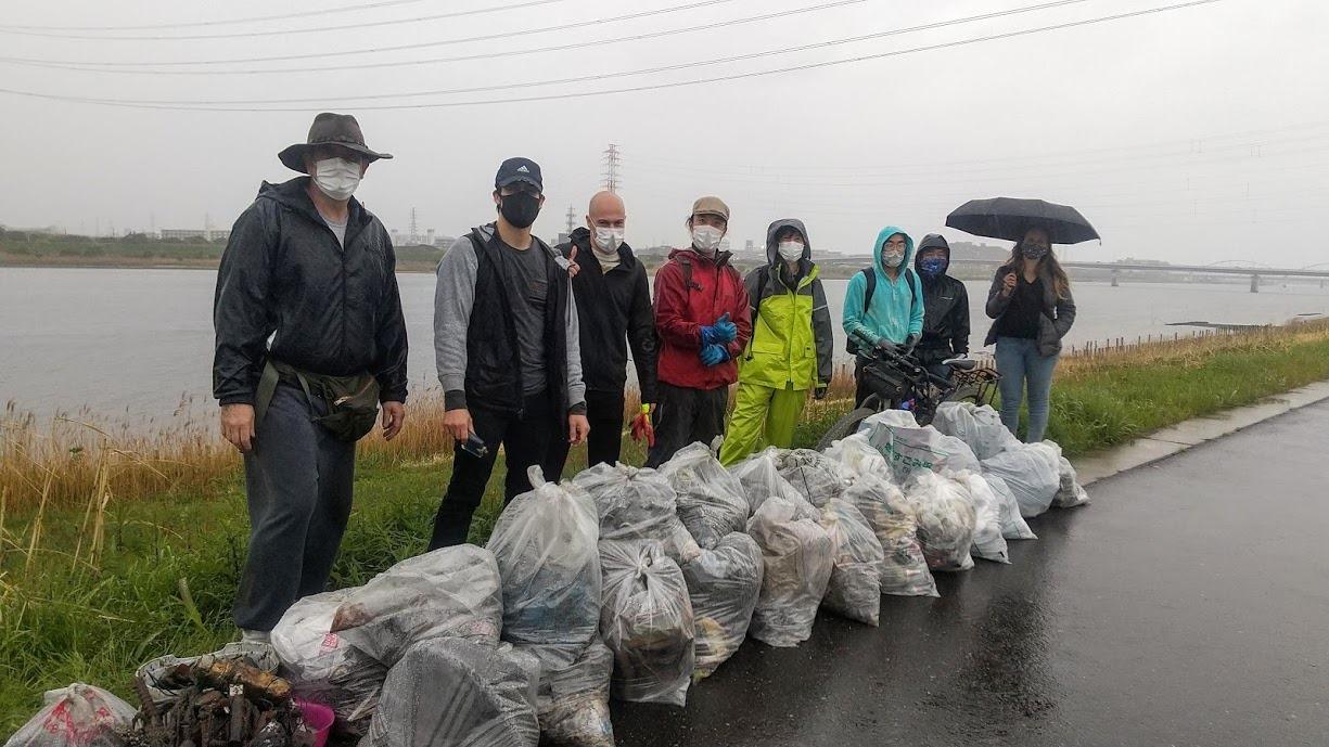Edogawa River Clean Up Apr 17, 2021