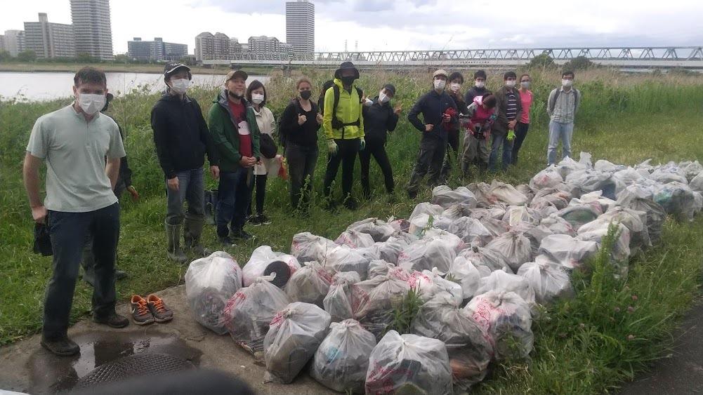 Arakawa River Clean Up May 2, 2021
