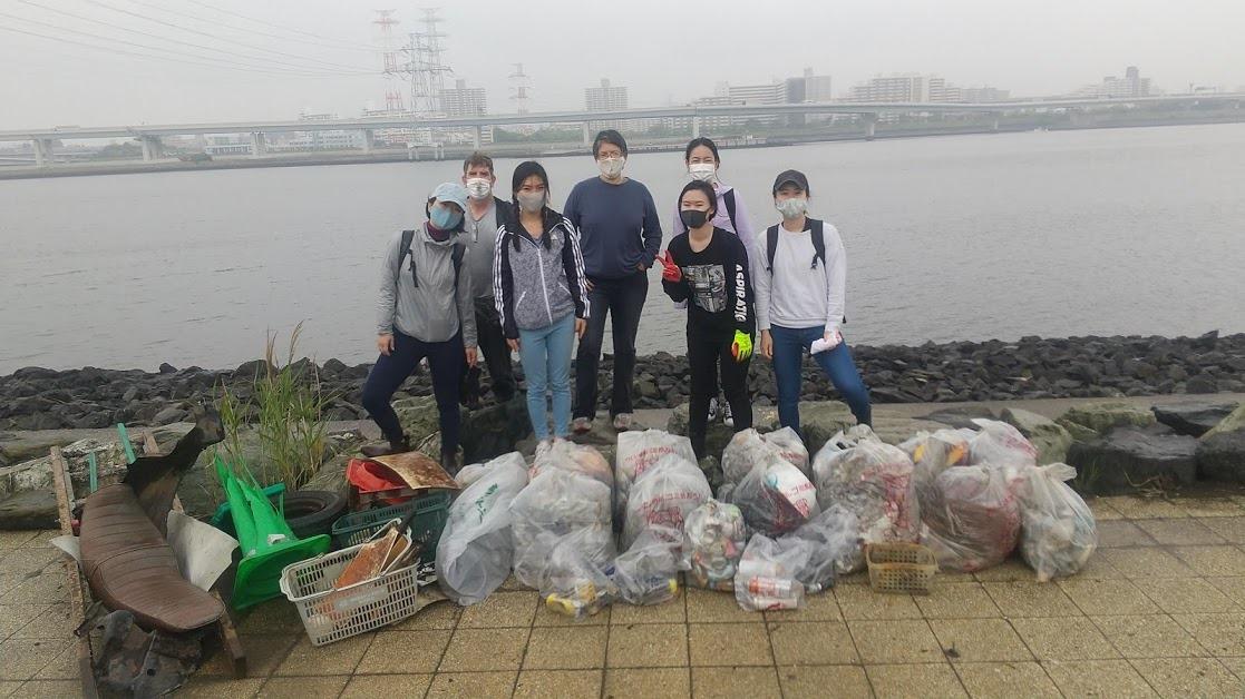 Arakawa River Clean Up May 13, 2021