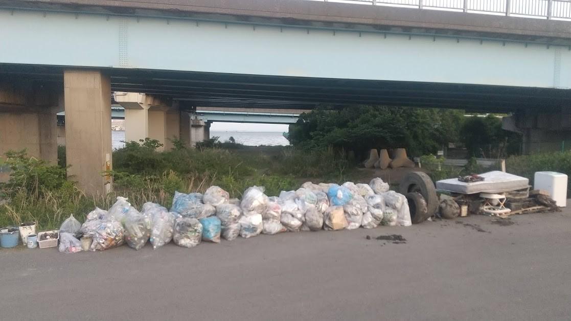 Edogawa River Clean Up May 15, 2021