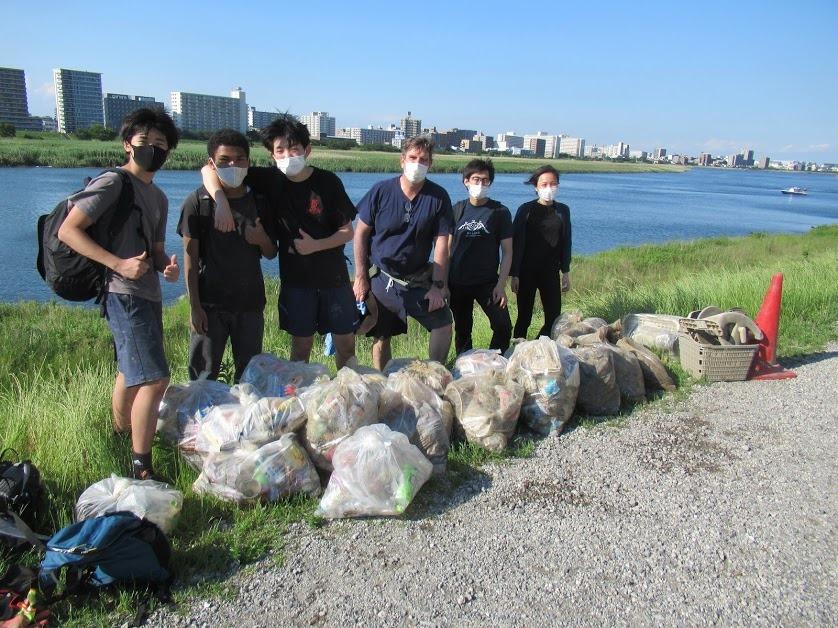 Tamagawa River Clean Up May 25, 2021