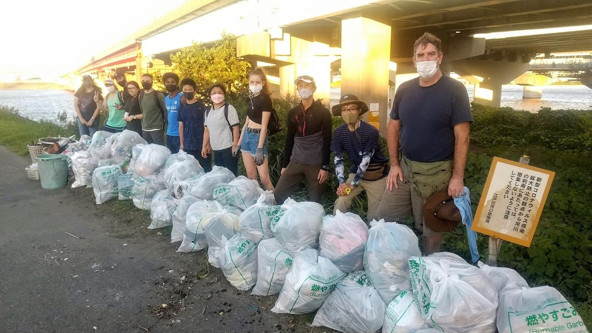 Edogawa River Clean Up September 19, 2021